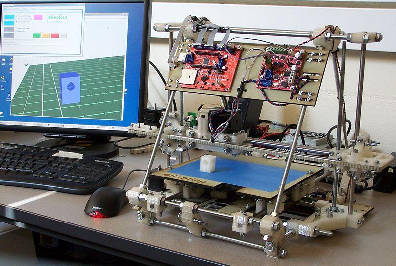 Imprimer en 3D - RepRap Mendel