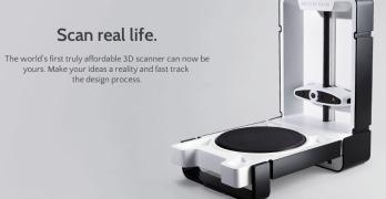 Matterform Scanner : un scanner d'objet pour les numériser et les (re)imprimer en 3D à 579$