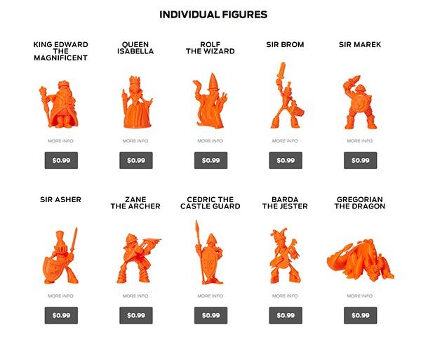 Figurines Makerbot Digital Store