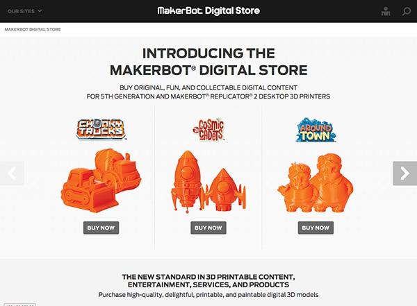 Makerbot Digital Store