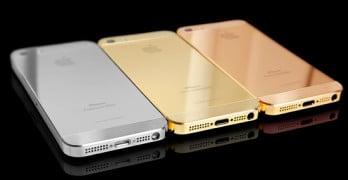L'iPhone 5S s'habille d'or chez Hadoro grâce à une imprimante 3D
