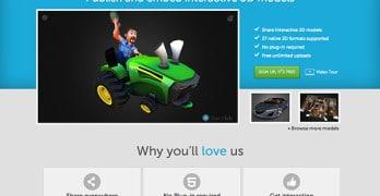 Publiez et partagez vos modèles 3D avec Sketchfab !