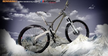 Empire Cycles va produire le premier VTT imprimé en 3D