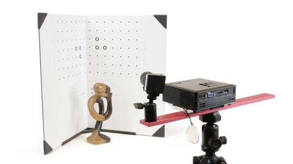 DAVID Structured-Light-Scanner SLS-1