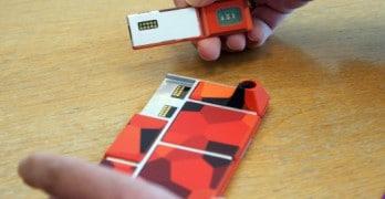 Google Ara, le smartphone à monter soi-même avec des coques que l'on pourra imprimer