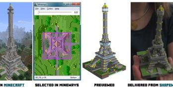 Mineway : quand l'imaginaire de Minecraft s'imprime en 3D