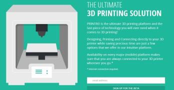 Printr, présentée comme la plateforme ultime pour l'impression 3D