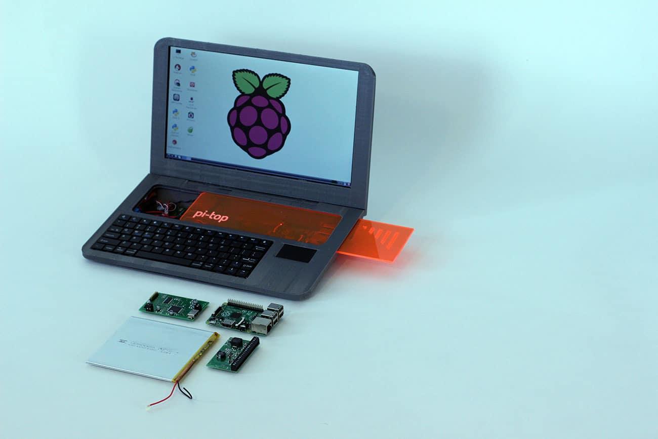 Extrem Pi-Top : fabriquer soi-même son ordinateur avec une imprimante 3D  PZ17
