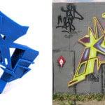 Les graffitis sous un nouvel angle grâce à Normally Ben et l'impression 3D