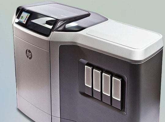 Imprimante 3D HP avec technologie Multi Jet Fusion