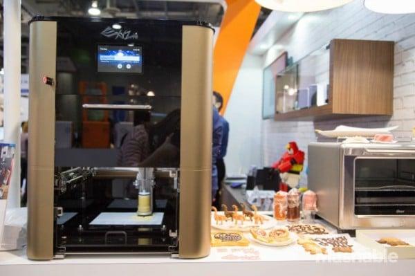 Imprimante 3D à nourriture