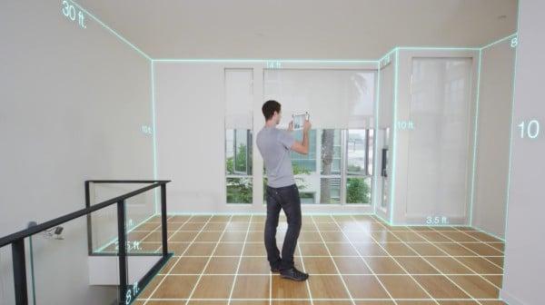 Scanner des surfaces immobilières