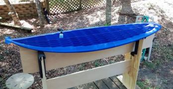 Une planche de surf imprimée en 3D