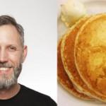 un pancake avec votre portrait