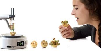 Manger sain, manger bio avec l'impression 3D