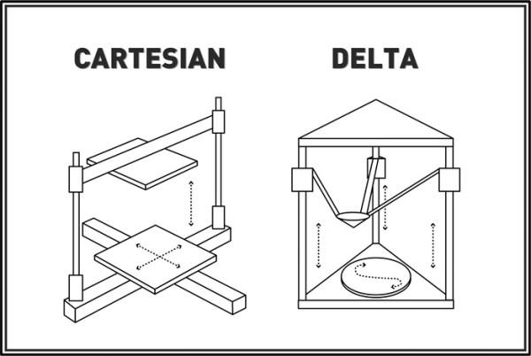 Bras delta de la tiko