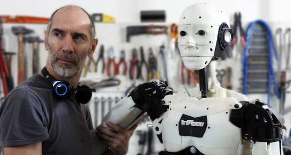 gael langevin et son robot
