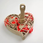 Bijou Coeur imprimé en 3D