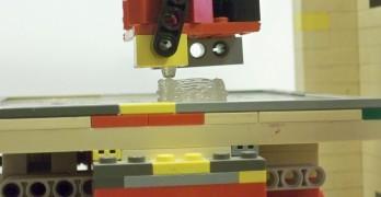 Imprimante 3D fabriqué en lego