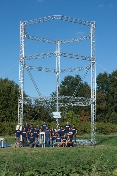 Equipe qui a conçu la Big Delta
