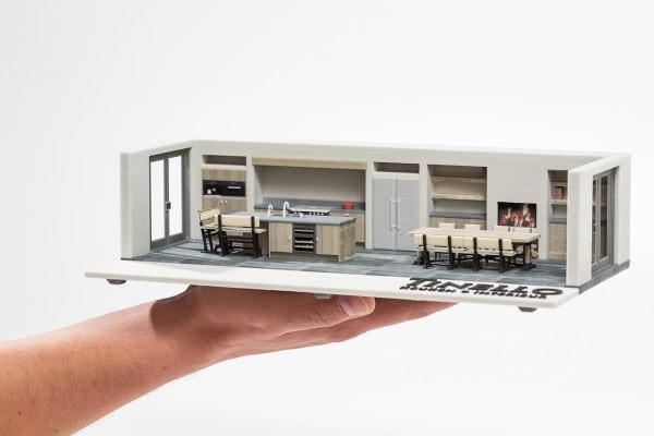 Cuisine en 3D miniature