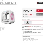 imprimante 3D Cube 2 en promotion